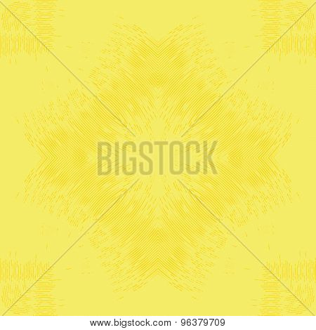 Yellow geometry background. Seamless pattern.