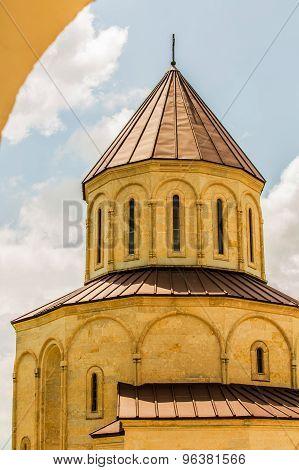 Georgian cathedral building. Georgia.