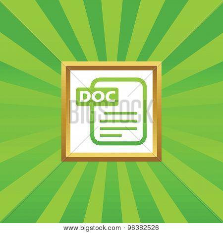 DOC file picture icon