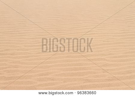 Abstracted Sand Dune Lines