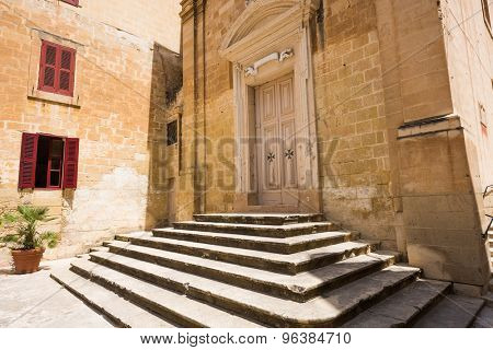 St. Joseph chapel of St. Lawrence's church in Valletta`s Birgu in Malta