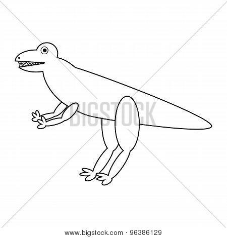 Dinosaur Icon.