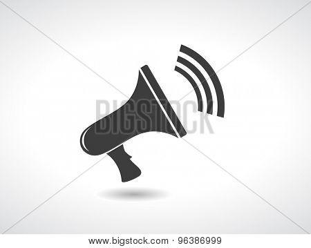 loudspeaker megaphone icon