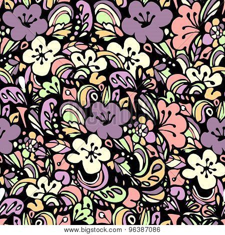 floral pattern pink