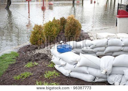 Sandbag Protection