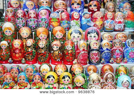 Russian dolls matruska