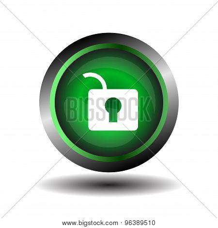 Padlock icon vector. Lock icons set