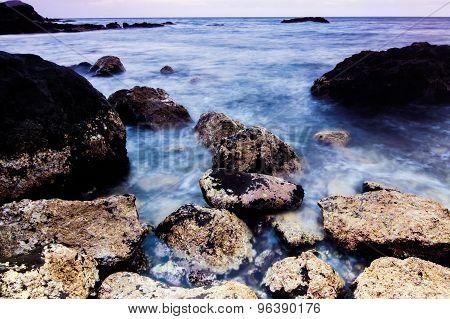 Sea Coast in Tenerife