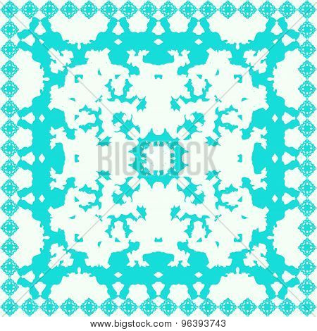 Colorful Ethnic Festive Abstract Floral Vector Pattern.