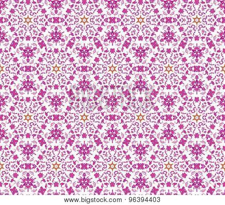 Elegant vector seamless pattern (tiling).