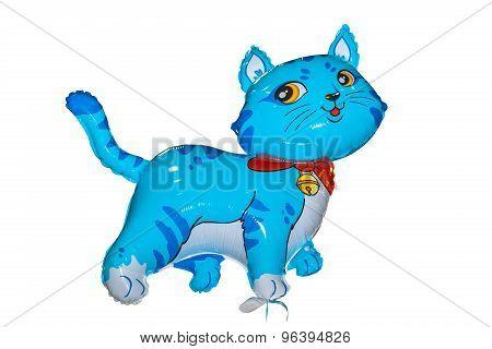 Baloon Cat Blue