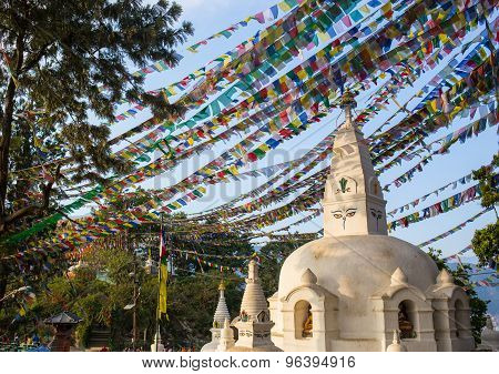 Buddhist stupa - Buddhist place of worship