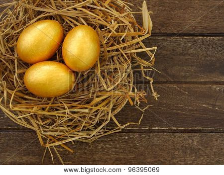 Gold Eggs