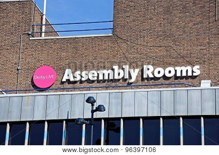 Assembly Rooms, Derby.