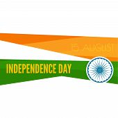 stock photo of indian independence day  - Abstract background with the symbol of India - JPG