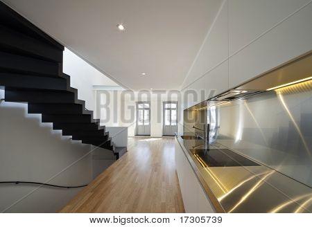 beautiful modern apartment, loft duplex