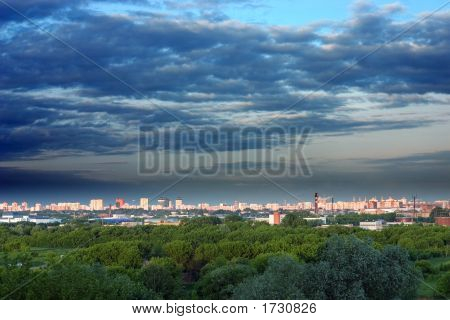 Moscow City Landscape