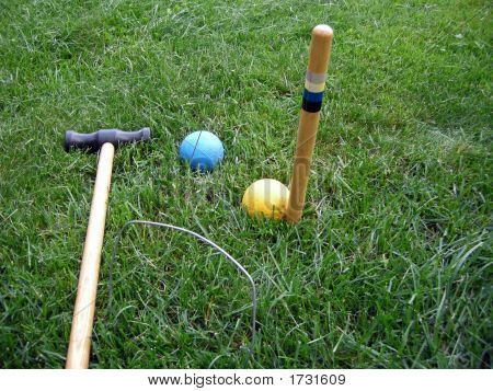 Croquet Pieces