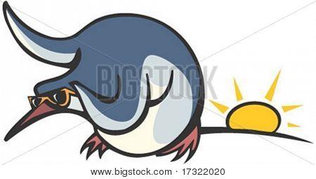 Personagem de ave