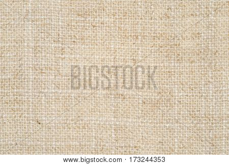 Fine Linen Texture Background In Nature Pattern