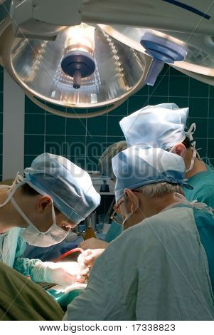 Surgeons in OR