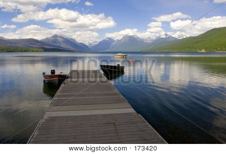 Dock, Lake Mcdonald