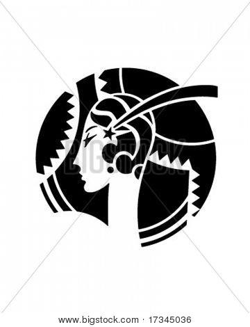 Art Deco Motif - Retro Clip Art