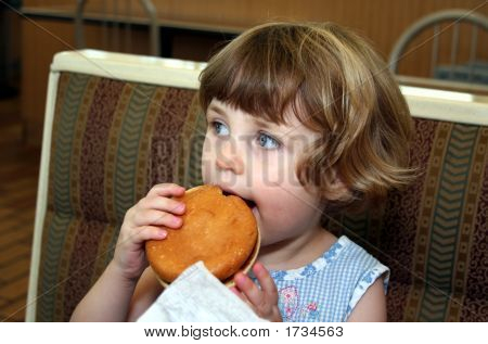 Hamburger Girl