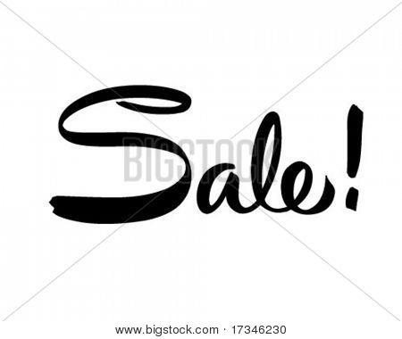 Sale! - Ad Header - Retro Clip Art