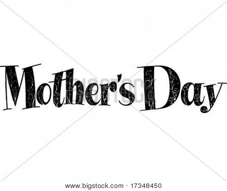 Mother's Day - Ad Header - Retro Clipart