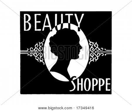 Beleza Shoppe - Ad Retro arte Banner