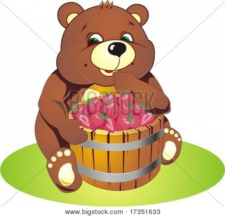 teddy, toy, bear, illustration, baby, vector, painting, child, animals, fur, cute, objects, christmas, heart, children