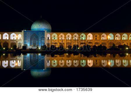 Imam Square At Night, Isfahan, Iran
