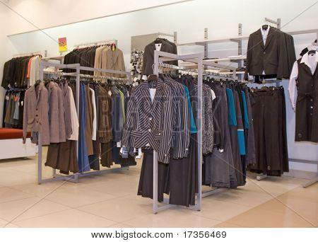 Männer Kleid Modegeschäft