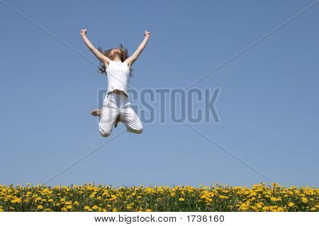 Girl In A Jump, Looking Up