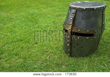 Single Knights Helmet