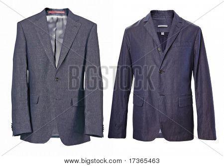 grey black jacket
