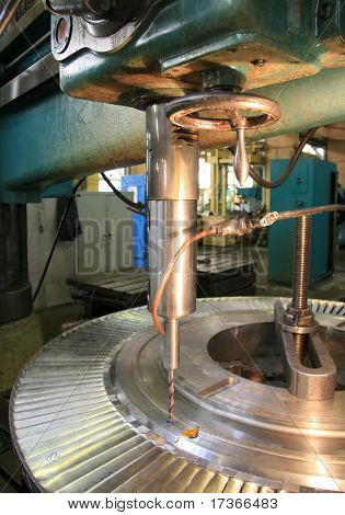 disk of steam turbine repair