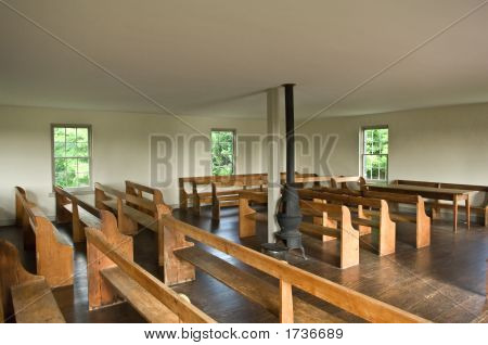Dunker Church Interior View