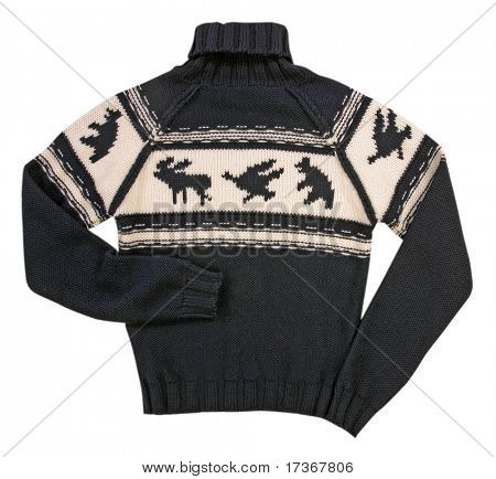 winter woolen sweater jacket