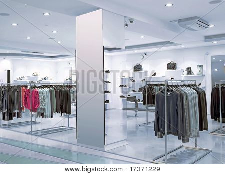 blue night fashion store
