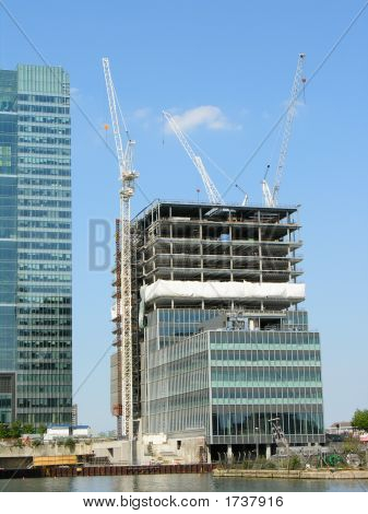 Canary Wharf - Construction