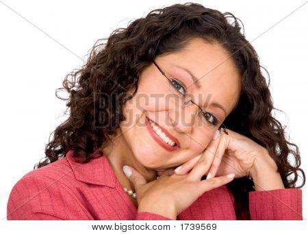 Cute Woman Portrait
