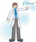 image of albert einstein  - Science Day - JPG