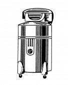 image of washing-machine  - Wringer Washing Machine  - JPG
