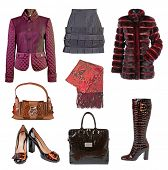 stock photo of habilis  - collection winter clothes - JPG
