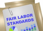 Fair Labor Standards - Business Concept poster
