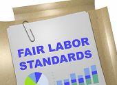 Fair Labor Standards - Business Concept poster