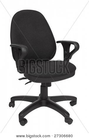 office chair,isolated on white with clipping path