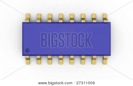 IC circuit micro  chip